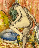 Edgar Degas: Woman after Bathing