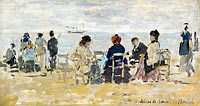 Scene on the Beach