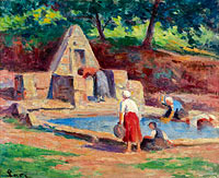 Kermouster, the Laundresses