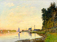 Claude Monet: Argenteuil, Late Afternoon