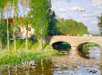 Bridge upon the River, Sainte-Gemme-Moronval