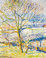 Big Nut-Tree, the Frost at Eragny