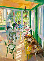 Konstantin Korovin: On the Veranda