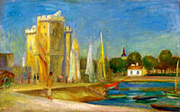 Pierre-Auguste Renoir: The Port of La Rochelle