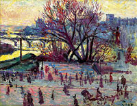 Maximilien Luce: The Seine, View from the Studio of Pissarro