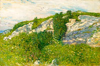 Frederick Childe Hassam: Ledges and Bay, Appledore