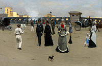 Jean Béraud: The Square of Europe