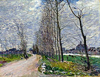 Alfred Sisley: View of Moret-sur-Loing