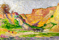 Maximilien Luce: The Outskirts of Rollebois, Harness at the Sand-Pit