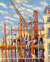 Maximilien Luce: The Scaffolding