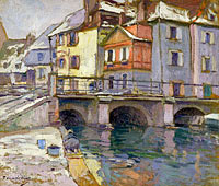 Paul Madeline: Old Port at Colmar