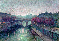 Maximilien Luce: The Pont Neuf, the Seine, Small Arm