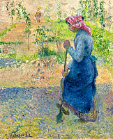 Peasant Woman Digging