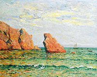 Максим Мофра: Lonely Rock at Morgat