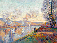 The Seine at Rouen