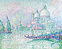 Paul Signac: Venice. The Salute. Green