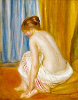 Pierre-Auguste Renoir: Bather (2)