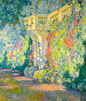 Henri Le Sidaner: The Balustrade, Gates to the Terrace