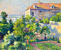 Maximilien Luce: Montmartre, the House of Suzanne Valadon