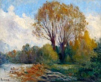Banks of the Seine in Autumn