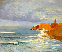 Maxime Maufra: Red Rocks