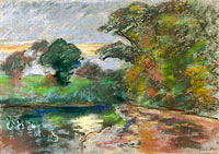 Camille Pissarro: The Pond of Montfoucault