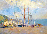 At the Port at Honfleur