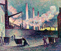 Works Furnaces at Couillet