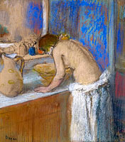Young Woman by the Toilette