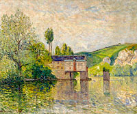 Maxime Maufra: The Watermill, Les Andelys