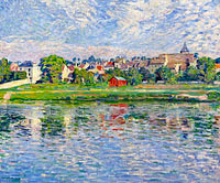 Henri Lebasque: Lagny, the Banks of Marne