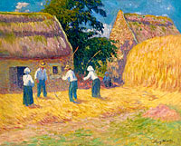 Threshing of Grain