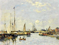 Эжен Луи Буден: Shipping Lock at Trouville