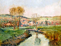 Landscape at Ruisseau