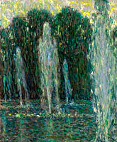 Henri Le Sidaner: The Jets of Water, Versailles