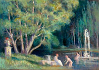The Bathers in the Water