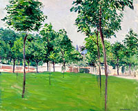 Gustave Caillebotte: The Walk at Argenteuil