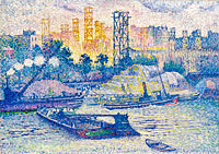 Henri-Edmond Cross: The Quay of Passy