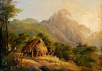 Landscape in Montagne with the Cabin, Galipan