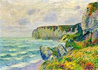 Gustave Loiseau: The Cliffs of Saint-Jouin