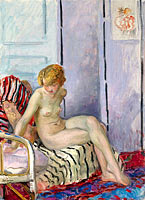 Henri Lebasque: Nude in Armchair