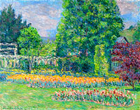 Blanche Hoschedé Monet: The Gadren at Giverny