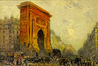 Фрэнк Майерс Боггс: Paris, the Porte Saint-Denis