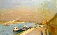 Quay of the Seine, Spring Morning