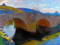 Henri Martin: The Bridge at Labastide-du-Vert