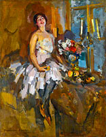 Константин Коровин: Portrait of a Dancer