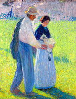 The Couple with a Lamb