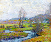 Early Spring, Pleasant Valley, Lyme, Connecticut