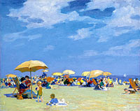 Edward Henry Potthast: Beach at Far Rockaway