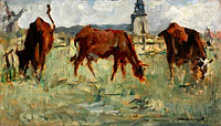 Édouard Manet: Cows at the Pasture